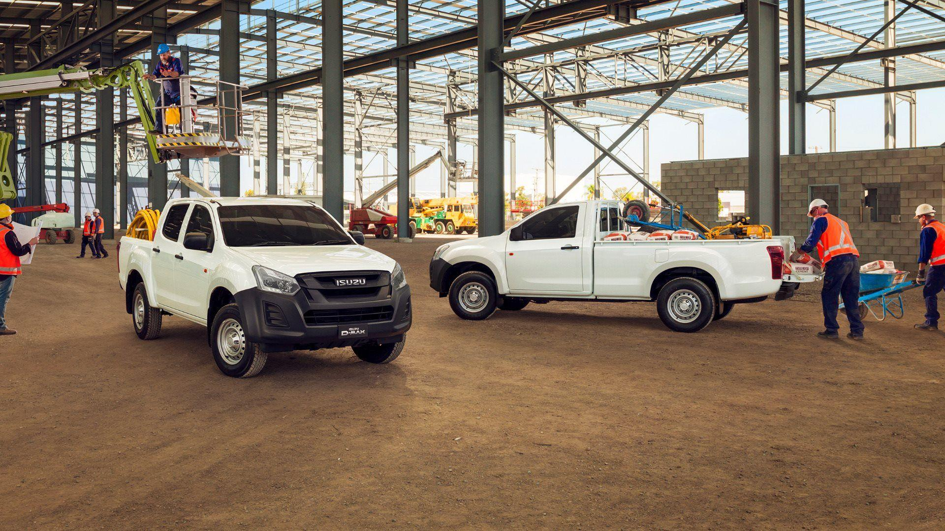 CV SHOW PUBLIC REVEAL FOR NEW ISUZU D-MAX